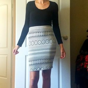 Pencil Skirt from Charlotte Russe